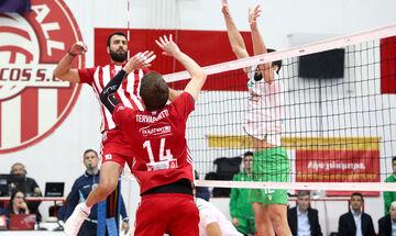 Ορίστηκαν τα εξ' αναβολής της VolleyLeague: Παναθηναϊκός-Ολυμπιακός στις 24/3