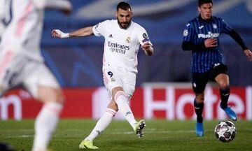 Ρεάλ Μαδρίτης - Ατάλαντα 3-1: Με δυο νίκες στα προημιτελικά