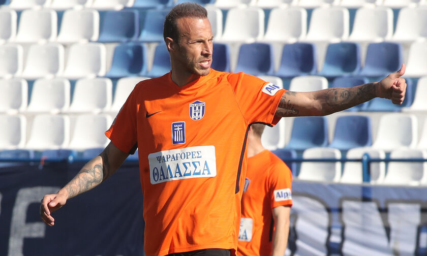 Απόλλων Λάρισας - Ιεράπετρα: Το γκολ του Μόρα για το 1-0 (vid)