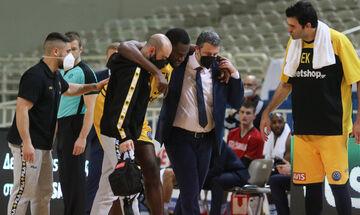 AEK: Απέφυγε τα χειρότερα ο Μόουζες!