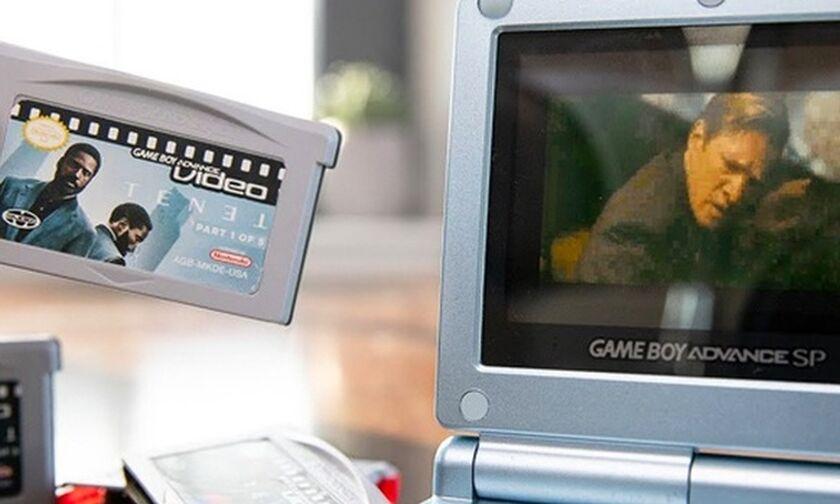 Είδε το «Tenet» μέσα από ένα Game Boy Advance! (vid)