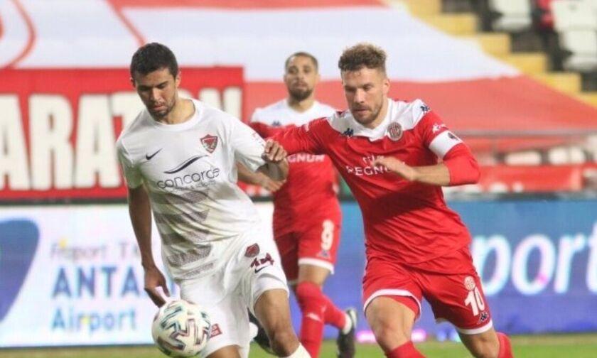 Αντάλιασπορ - Αλάνιασπορ 2-0: Εκτός τελικού Κυπέλλου ο Τζαβέλλας (vid)