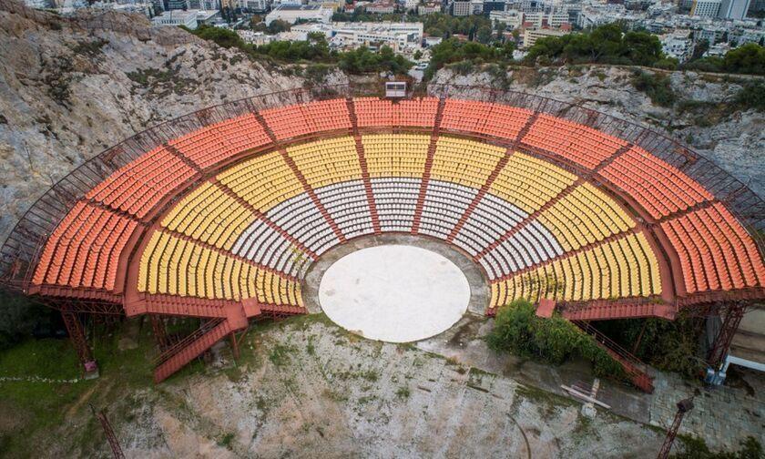 Το Θέατρο Λυκαβηττού περνάει στα χέρια του Δήμου Αθηναίων και ανοίγει...