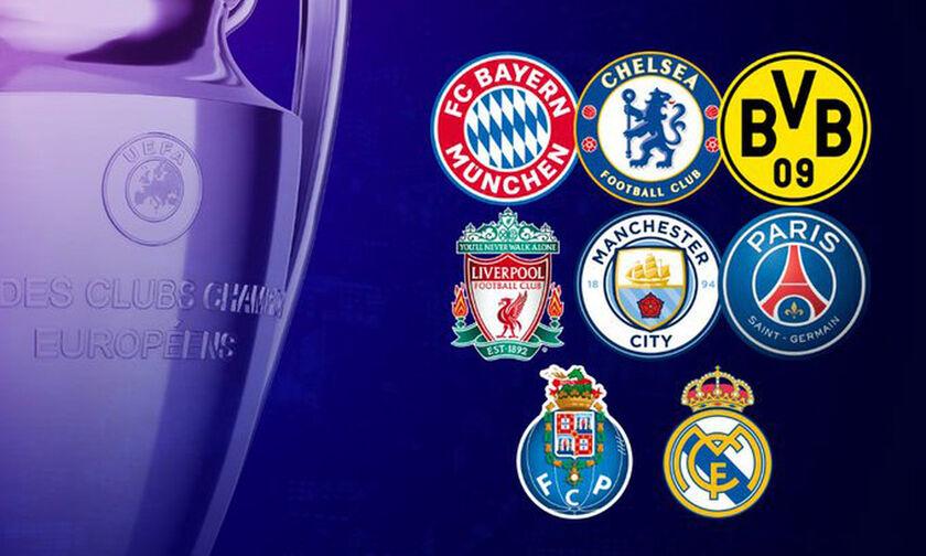 Κλήρωση Champions League: Ρεάλ Μαδρίτης - Λίβερπουλ, Μπάγερν - Παρί τα μεγάλα ζευγάρια-vid