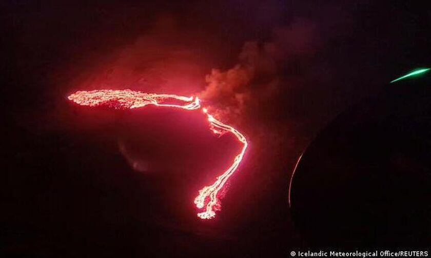 Ισλανδία: Έκρηξη ηφαιστείου κοντά στο Ρέικιαβικ
