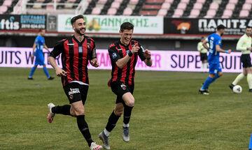 Super League 2: Μπαλωθιά ο Καραϊσκάκης στο Ηράκλειο – Η Παναχαϊκή με δέκα παίκτες τον Απόλλωνα (vid)