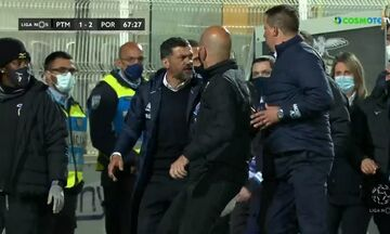 Liga Nos: Πιάστηκαν στα χέρια ο Σέρτζιο Κονσεϊσάο με τον Πάουλο Σέρτζιο! (vid)