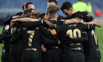 La Liga: «Εξάσφαιρο» τράβηξε η Μπαρτσελόνα, στο «Ανοέτα», ξανά στο -4 από την Ατλέτικο (highlights)