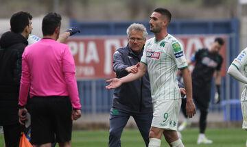 Αστέρας Τρίπολης - Παναθηναϊκός 2-2: Η ένταση στην αλλαγή του Μακέντα (vid)