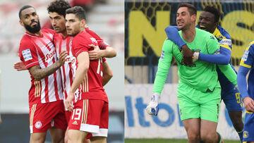 Πλέι οφ - Super League 1: Νίκες ΠΑΟΚ - Ολυμπιακού, θρίλερ στην Τρίπολη (highlights - βαθμολογία)