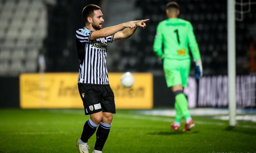 ΠΑΟΚ - ΑΕΚ: Το γκολ του Ζίβκοβιτς για το 1-0 (vid)