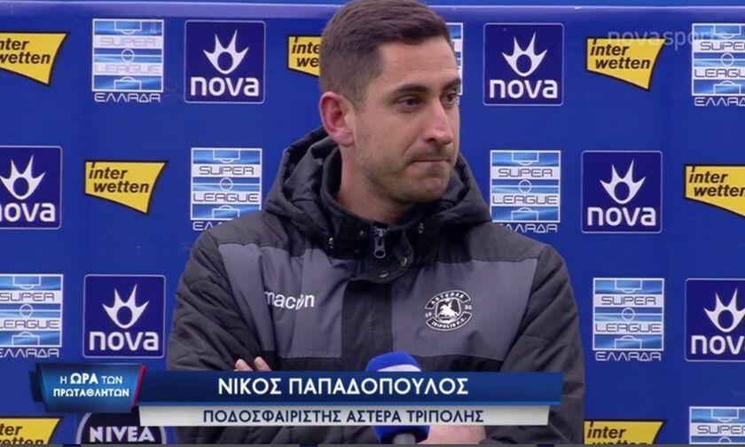 Παπαδόπουλος: «Οι καθυστερήσεις που έκαναν οι παίκτες του Παναθηναϊκού μικραίνουν τον σύλλογο» (vid)