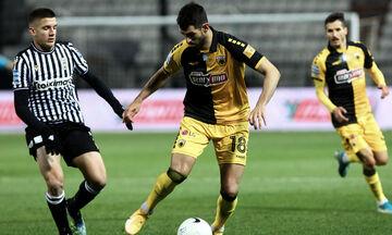 ΠΑΟΚ - ΑΕΚ: Το γκολ του Ολιβέιρα για το 1-1 (vid)