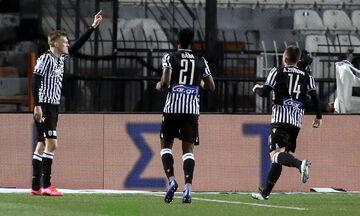 ΠΑΟΚ - ΑΕΚ: Το γκολ του Σφιντέρσκι για το 2-1 (vid)