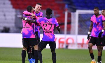 Ligue 1: Σαρωτική η Παρί διέλυσε 4-2 τη Λιόν - «Κάζο» της Λιλ με την προτελευταία Νιμ (highlights)