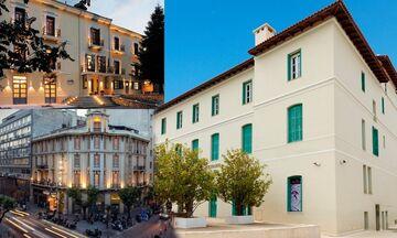Πωλητήριο σε ιστορικά ακίνητα: Grand Hotel de Kifissia, Tourist Hotel και Hotel Helmos