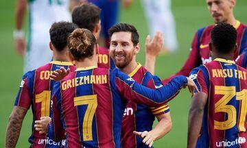 Μπαρτσελόνα: Έφτασε τα 100 γκολ από 19 παίκτες