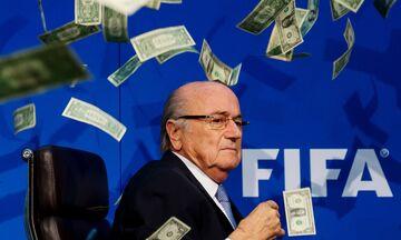 Σκάνδαλο FIFA: Νέα εξαετής ποινή και πρόστιμο 1 εκατομμυρίου στον Σεπ Μπλάτερ