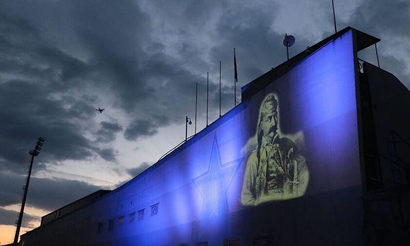 Αστέρας Τρίπολης: Η μορφή του Θόδωρου Κολοκοτρώνη στο γήπεδο (pic)