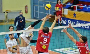 Volley League Ανδρών: Οριστικά δεύτερος ο Φοίνικας, 3-0 τον ΟΦΗ