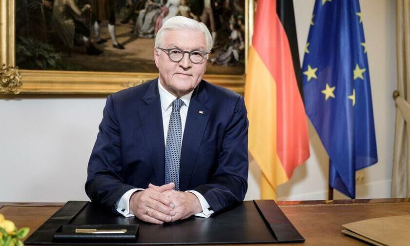 Σταϊνμάιερ: «Τα πιο θερμά μου συγχαρητήρια στην Ελλάδα για την ειδική επέτειο»