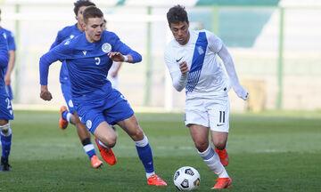 Ελλάδα - Κύπρος 0-0: Πρεμιέρα με το αριστερό για τις Ελπίδες στα προκριματικά του Euro