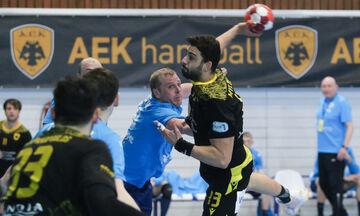 Νέβα - ΑΕΚ 21-30: Με το ενάμιση πόδι στα ημιτελικά του EHF European Cup (highlights)