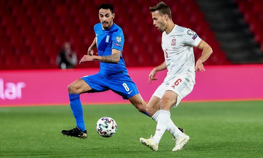 Iσπανία - Ελλάδα: Το έξοχο γκολ του Μοράτα για το 1-0 (vid)