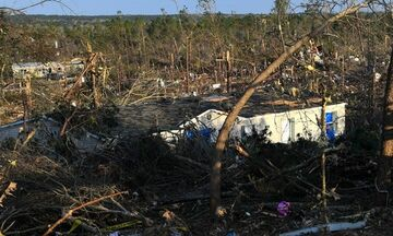 ΗΠΑ: Πέντε νεκροί στην Αλαμπάμα, που σαρώνεται από ανεμοστρόβιλους