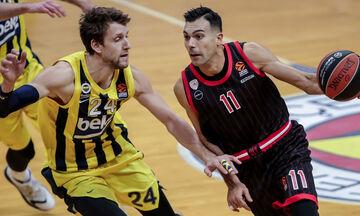 EuroLeague: Για το 4/4 ο Ολυμπιακός με Φενέρμπαχτσε