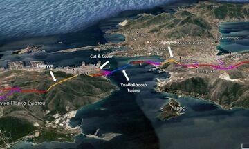 Υποθαλάσσια ζεύξη Σαλαμίνας - Περάματος: Το 5ετές πλάνο και τα 350 εκατ. ευρώ