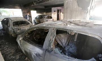 Θεσσαλονίκη: Εμπρησμός σε πυλωτή οικοδομής