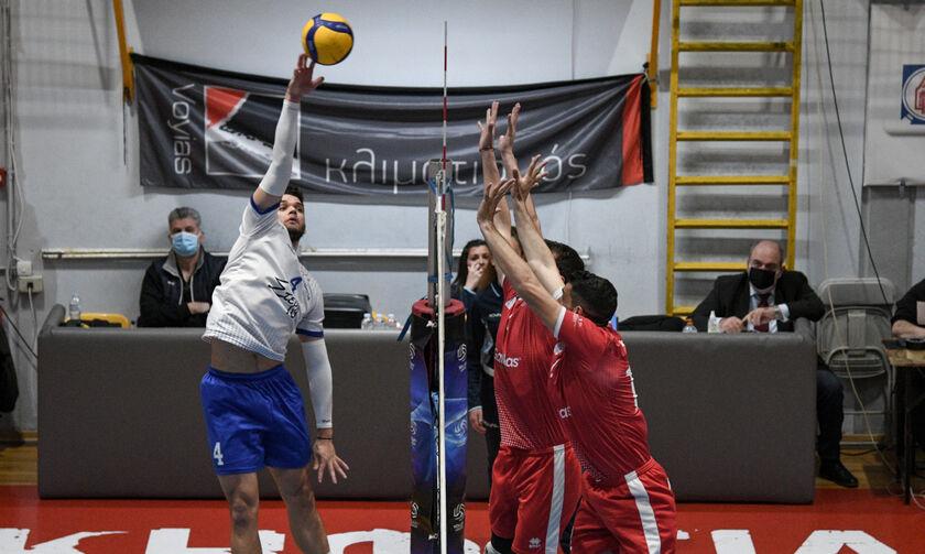 Volley League Ανδρών: Προβάδισμα Κηφισιάς για την πέμπτη θέση, 3-0 τον Φίλιππο