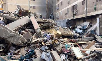Αίγυπτος: Ξεπερνούν τους 23 οι νεκροί από κατάρρευση πολυκατοικίας