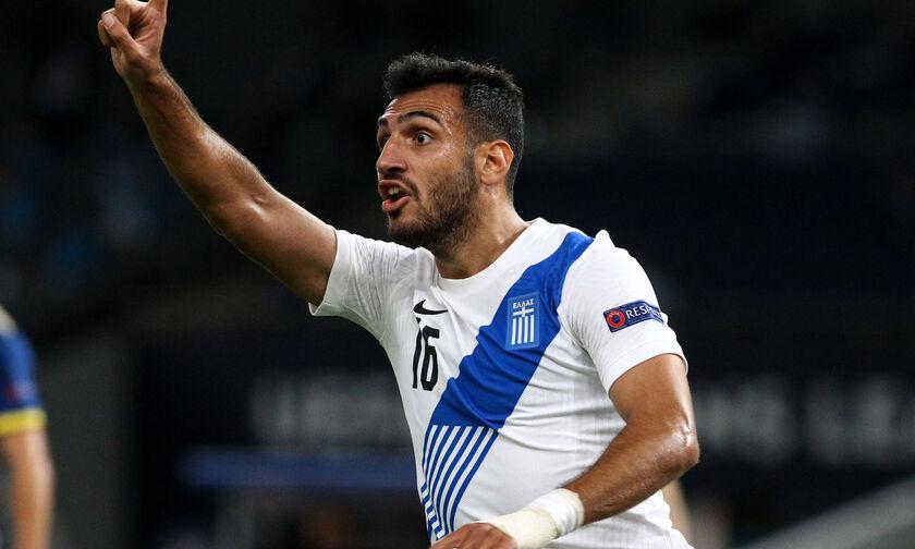 Ελλάδα - Ονδούρα: Η ασίστ του Φορτούνη και το γκολ του Παυλίδη για το 1-0 (vid)