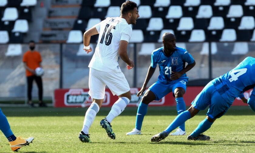 Ελλάδα - Ονδούρα: To γκολ του Παυλίδη και η ισοφάριση για το 1-1 στο ημίχρονο (vid)