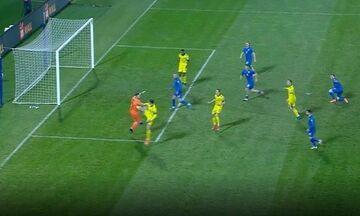 Κόσοβο - Σουηδία: Το 0-1 ο Αουγκούστινσον μετά από τακουνιά-ασίστ του Ιμπραΐμοβιτς (vid)!