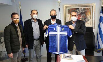 Αστέρας Τρίπολης: Επίσκεψη της ΠΑΕ στον Δήμαρχο Τρίπολης (pics, vid)
