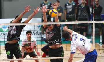 Volley League Ανδρών: Της... ανατροπής στο «Κροίσος Πέρσης», 3-2 η Κηφισιά τον Μίλωνα!
