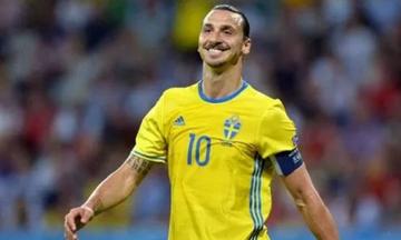 Τραυματίας ο Ιμπραΐμοβιτς - Δεν παίζει στο φιλικό Σουηδία - Εσθονία