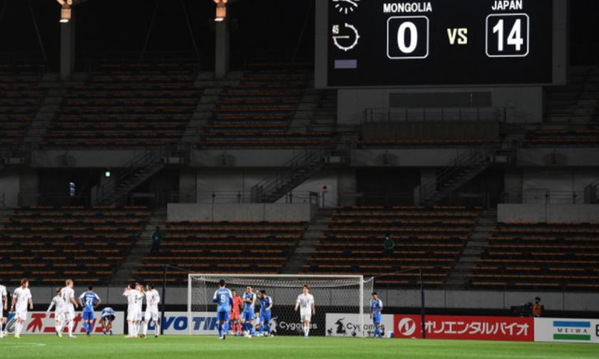 Προκριματικά Παγκοσμίου Κυπέλλου: Η Ιαπωνία συνέτριψε την Μογγολία με 14-0! (vid)