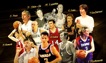 FIBA: Νας, Βολκόφ και Ζντοβτς ανάμεσα στους Hall of Famers για το 2020