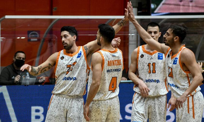 Basket League: Στο 8-0 στην Πάτρα ο Προμηθέας (highlights)