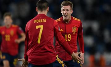 Ισπανία – Κόσοβο: Γκολάρες (2-0) από Όλμο και Φεράν Τόρες (vid)