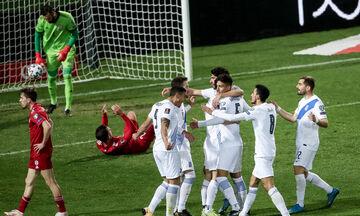 Ελλάδα-Γεωργία 1-1: Πέταξε στα σκουπίδια τον βαθμό που πήρε στην Ισπανία (highlights)