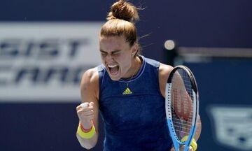 Miami Open: Mε Αντρέσκου η Σάκκαρη στα ημιτελικά