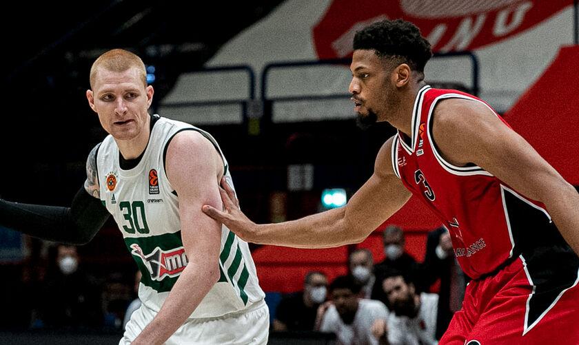 EuroLeague: Παναθηναϊκός - Αρμάνι Μιλάνο και άλλα τρία ματς