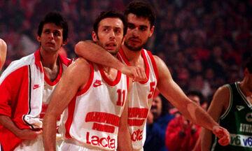 Ολυμπιακός - Παναθηναϊκός 65-57: Η «σκούπα» της Πρωταπριλιάς του 1997