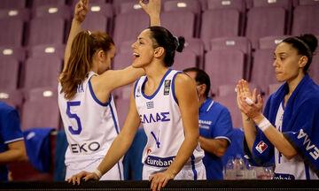 Εθνική Γυναικών: Το πλήρες πρόγραμμα της Ελλάδας στον Β' όμιλο του Eurobasket 2021