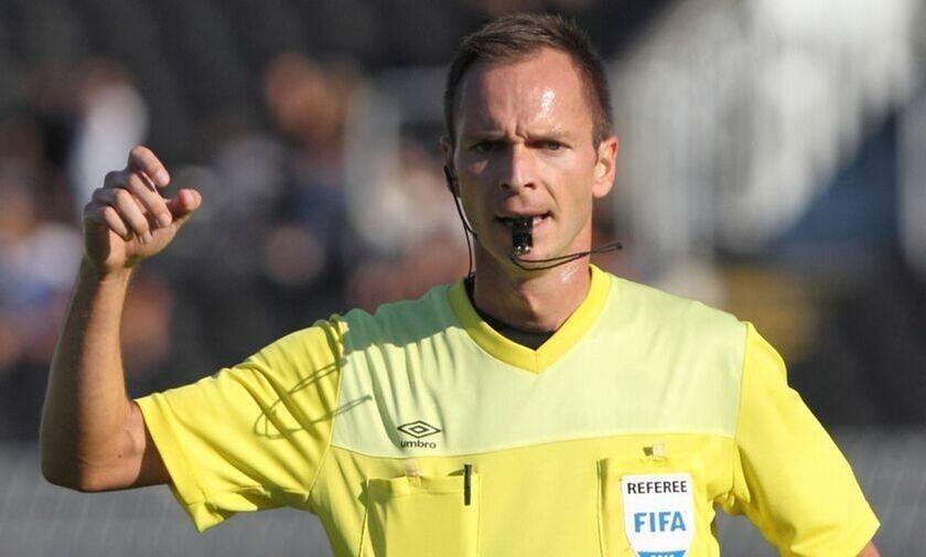 Ο Γιοβάνοβιτς διαιτητής στον αγώνα ΑΕΚ- Ολυμπιακός